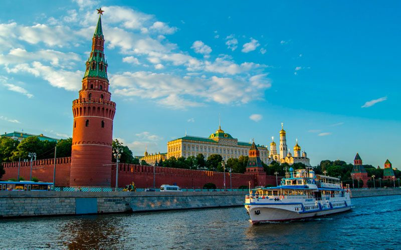 Кремль фото с реки