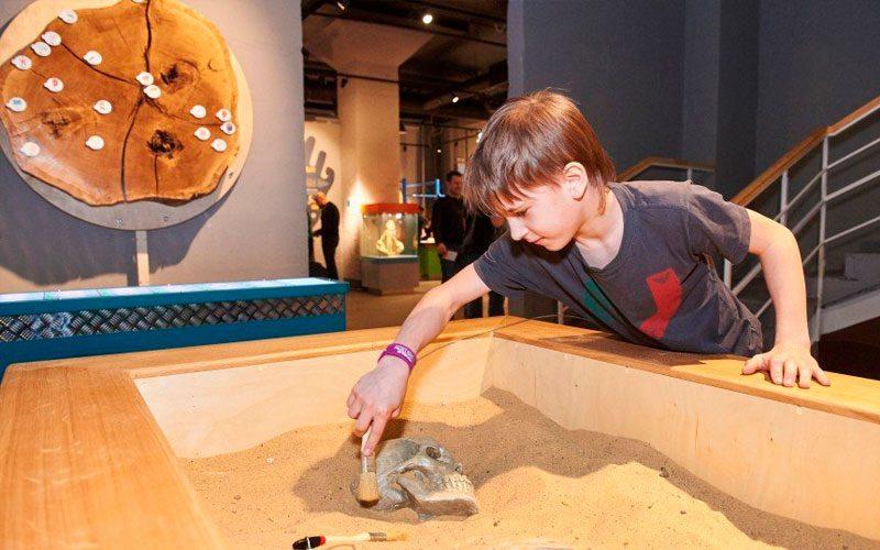 Интерактивное занятие в музее