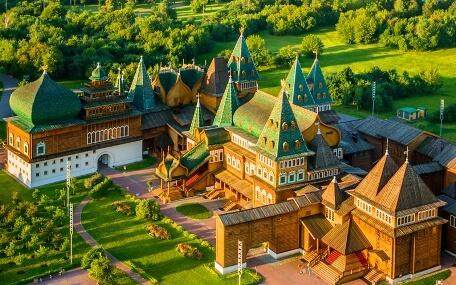 Дом Царя В Коломенском